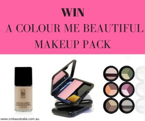 WIN COLOUR ME BEAUTIFUL PRODUCTS