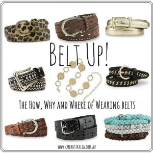 Belt Up – The How, Why and Where of Wearing Belts