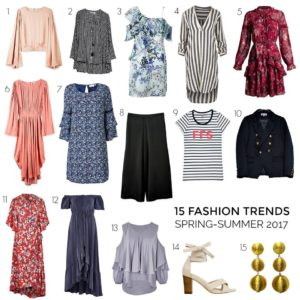 2017 Summer-Spring Fashion Trends from Styling You