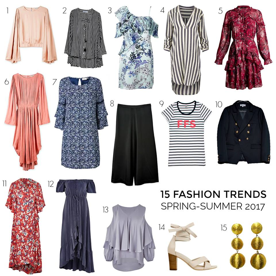15 Images of Fashion Trends for Spring-Summer 2017